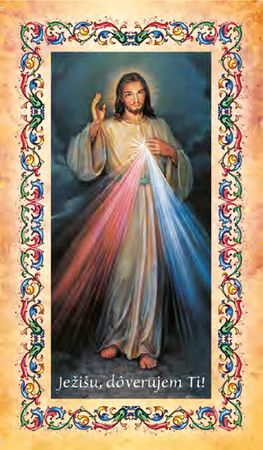 Divine Mercy - prayer cards - package