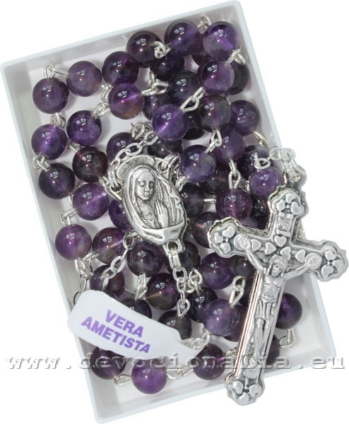 Rosary - from Amethyst