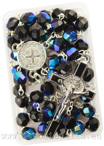Rosary - 6mm crystal beads
