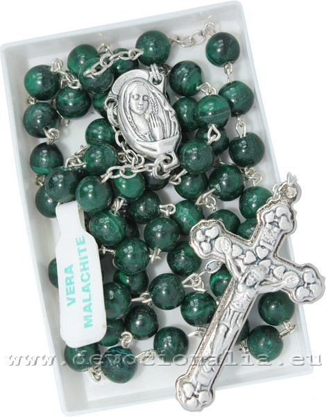 Rosary - from Malachite