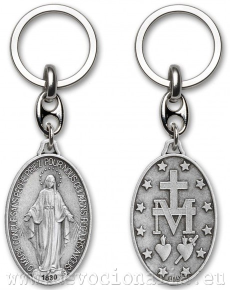 Key Chains - Miraculous Medal