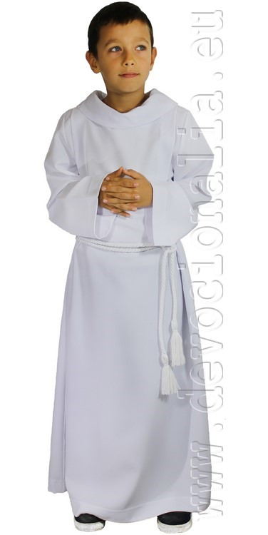 Cassock for altar boys - with turtleneck