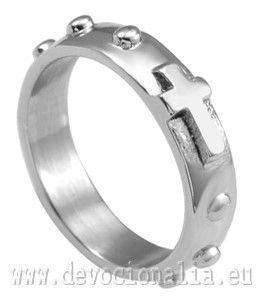 Ring - Rosary - Stainless Steel.