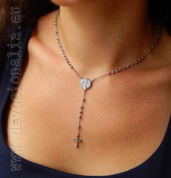 Rosary necklace - Stainless Steel